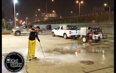 Commercial Power Washing in Chicago StLouis & Milwaukee